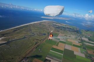 parachutesprong as verstrooien